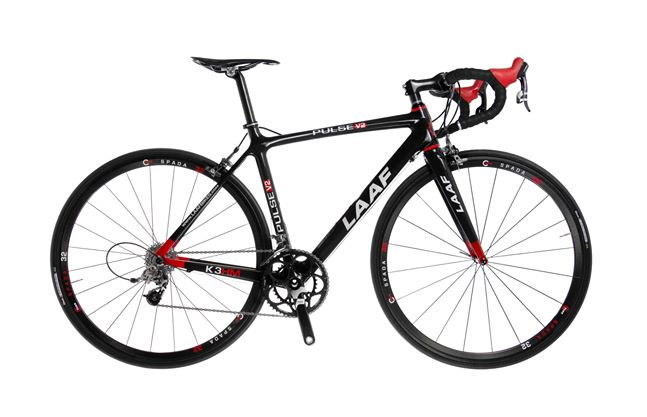 Road Frame: The Pulse – LAAF Bikes/ C Three Components